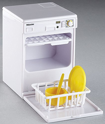 Preisvergleich Produktbild Mini Geschirrspüler Spülmaschine mit Geräusch u.Licht f. Puppenhaus Küche
