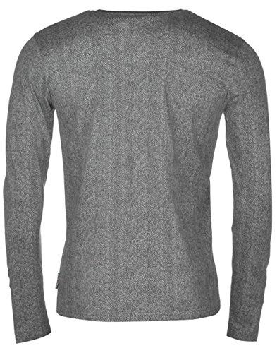 Lee Cooper Herren T-Shirt Anthrazit