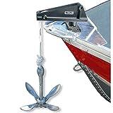 Scotty Ankerseil Feststeller Bug/Heck bis 10mm. Zubehör Boote. Ankern