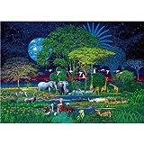 Clementoni 32536.8 - Puzzle Animal Jungle 2000 teilig