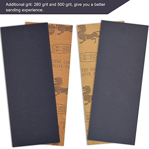 120 bis 3000 Grit Sandpapier für Automobil Schleifen, Holz Möbel Finishing, 32 Stück - 2