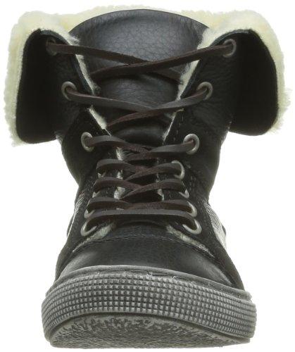 Little Mary Oplus, Boots garçon Noir (Cuir Floater Noir)