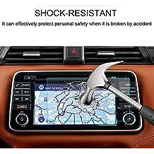 LFOTPP Nissan Micra 7 Pulgadas Navegación Protector de Pantalla - 9H Cristal Vidrio Templado GPS Navi