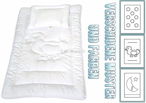 Enten Set Versandfrei Kinder Bettdecke Baby Set Steppbett+Kissen mit Öko-Tex Standard 100