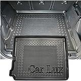 Car Lux AR01916 - Tapis bac protecteur de coffre sur mesure avec antidérapant pour...