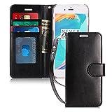 FYY Coque iPhone 8 Plus, Coque iPhone 7 Plus, [RFID Portefeuille Blocage] Fait Main...
