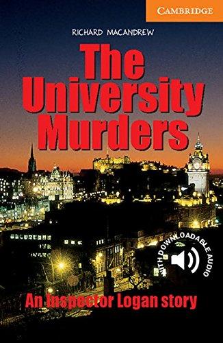 The University Murders: An Inspector Logan story. Englische Lektüre für das 3. Lernjahr....