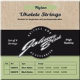 JOHNNY BROOK Set of 4 High Quality Clear Nylon Ukulele Strings