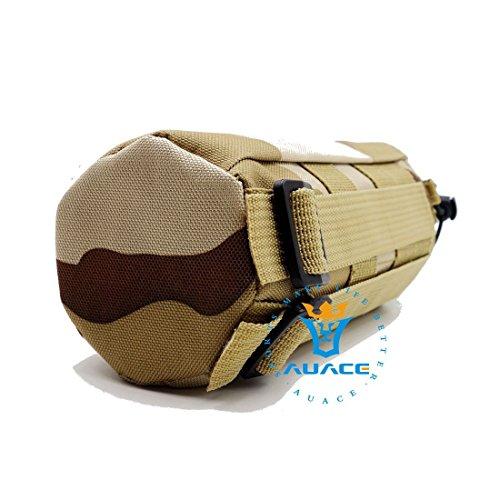 Multifunktions Survival Gear Tactical Beutel MOLLE Tasche Armee Wasser Flasche Tasche, Outdoor Camping Tragbare Travel Bags öffnen Top Wasser Flasche Tasche DCU