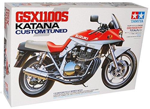 Suzuki Gsx1100 Gsx 1100 Katana Custom Tuned 14065 Bausatz Kit 1/12 Tamiya Modellmotorrad Modell Motorrad