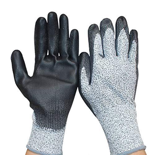 Beschichtete Arbeits-handschuhe (HNHX Beschichtete Tauchhandschuhe Für Arbeiten Im Freien, Schnittfeste Und Brennende Handschuhe)