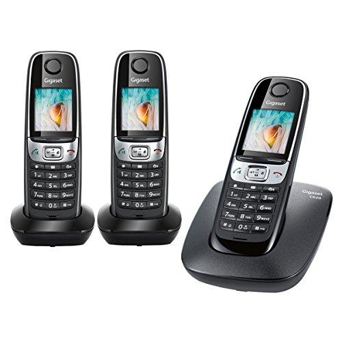Gigaset C620–Duo Schnurloses Telefon–2Mobilteile–Weiß
