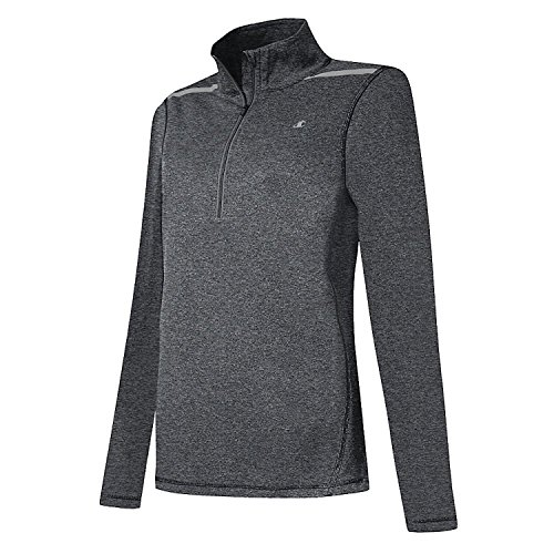 Champion Women's 1/4 Zip Long-Sleeve Top (Quarter Zip Champion Womens)