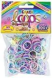 CRAZE Loops - Set di 300 Anelli in Silicone, Multicolore, 20722