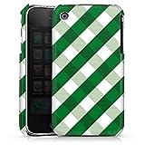 DeinDesign Coque Compatible avec Apple iPhone 3Gs Étui Housse Carreau Vert Motif