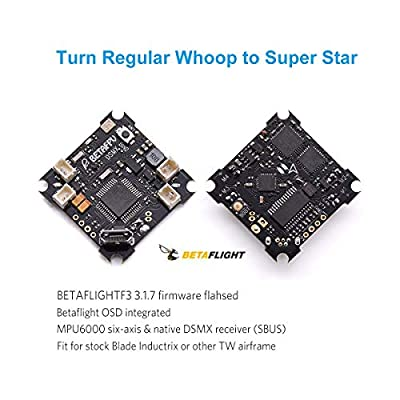 BETAFPV F4 FC 1S Brushed Flight Controller DSMX Receiver ESC OSD Smart Audio for Tiny Whoop FPV Micro Racing Drone