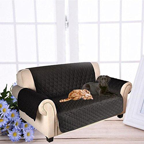OWIKAR Haustier-Sofa, für Hunde, wasserdicht, rutschfest, Loveseat Sofa Matte abwaschbar Kissenhülle Sofa Couch Schonbezug, Möbel Displayschutzfolie für Hunde, Katzen, Kinder (Sofa Großes 2-sitzer)
