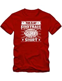 This Is My Football T-Shirt | Football T-Shirts | USA | Camiseta