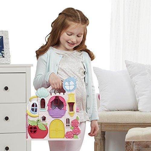 Disney Princess B6317 Przenośny zamek Kopciuszka z lalką HASBRO