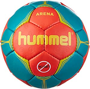 hummel Erwachsene Arena Handball Nasturtium/Viridian/Yellow, 2