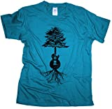 Guitar Roots - Herren T-Shirt | Gitarrist Rock Band Gitarre-atoll-xxl