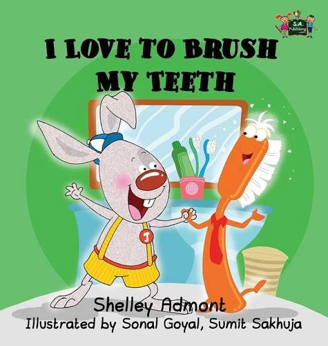 I Love to Brush My Teeth: Children's Bedtime Story