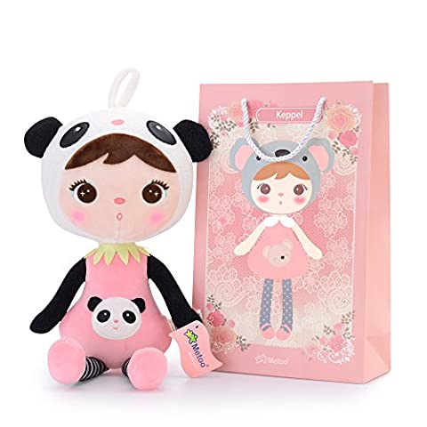 Metoo Keppel Poupée Fille Bébé Jouet Petite Fille Le Cadeaux D'anniversaire (Fille Panda)