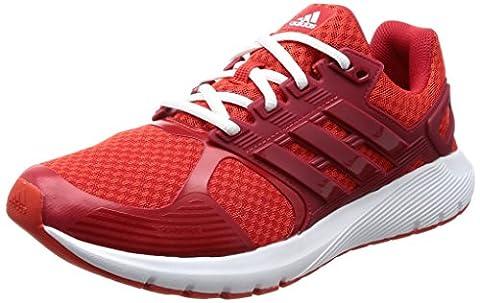 adidas Herren Duramo 8 Laufschuhe, Rot (Core Red/Scarlet/Footwear White), 46 2/3 EU
