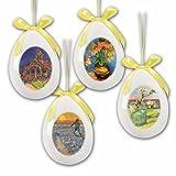 Keramik-Ostereier mit van Gogh-Motiven