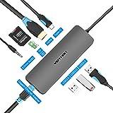 VENTION USB C Hub, 9 in 1 Type C Thunderbolt 3 Hub, 4K USB