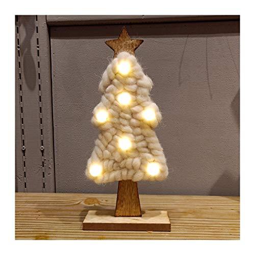WUFANGFF Led Filz Weihnachtsbaum Weihnachten Geschenke Für 2019 Neues Jahr Weihnachten Dekor Home 2018 Neue Ankunft (32 cm), (Kleinkind Weihnachtsbaum Kostüme)