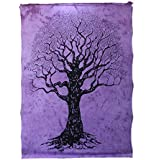 [Sponsored]Tree Tapestry Hippie Tapestry Mandala Tapestry Wall Hanging Wall Decor Home Decor (Natural)