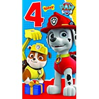 Paw Patrol Have a Pup-Tastic 4th Birthday Greeting Card
