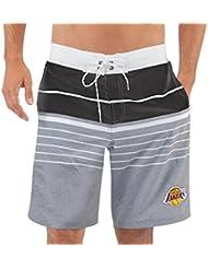 "Los Angeles Lakers NBA G-III ""Balance"" Men's Boardshorts Swim Trunks"