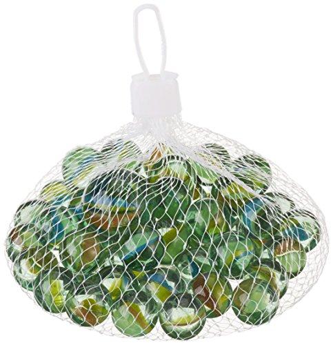 Glas-Murmeln - Knicker Schusser 51 tlg. im Säckchen Glasmurmeln G1