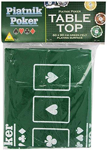 Piatnik 30963 - Poker Tischauflage 60 x 90 cm Test