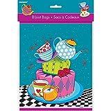 Die besten Goody Freunde für Mädchen - Mad Hatters Tee Party Taschen, 8Stück Bewertungen