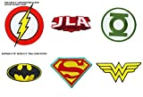 DC Comics classique Justice League Green Lantern, Superman, Wonder Woman, Batman, Flash brodée coudre ou thermocollant Patch