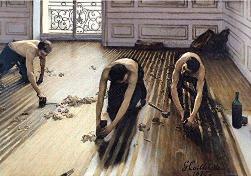 Puzzle Michele Wilson - Les raboteurs de parquet de CAILLEBOTTE - Bois - W817 -100