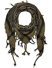 Superfreak® Palituch mit Pentagramm-Muster°PLO Schal°100x100 cm°Pali Palästinenser Arafat Tuch°100% Baumwolle – alle Farben!!!