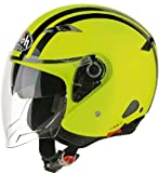 Airoh Casco Decal, Giallo, M