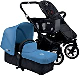 Bugaboo Donkey Complete Mono Stroller - Ice Blue - Black by Bugaboo