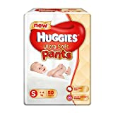#1: Huggies Ultra Soft Small Size Premium Diapers (50 Counts)