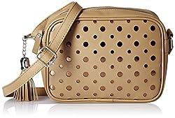 Kanvas Katha Womens Handbag (Beige) (KKSQL001)