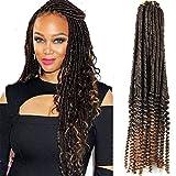 MAN Hoch und Runter Glattes Haar Haarzöpfe Schwarz Handgewebte Haarverlängerung Hohle Haare Glattes Haar Curl,1
