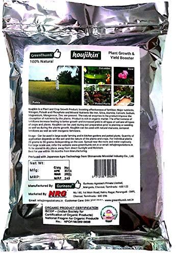 The Green Thumb Koujikin -Microbial Organic Fertilizer for All Plants (900gm)
