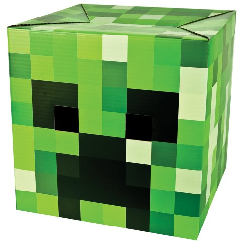 (Minecraft Pappkopf Creeper)