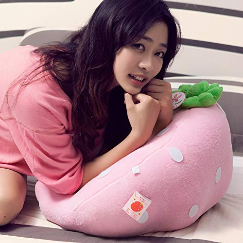 GX&XD Cartoon Erdbeere Kindersofa,Plüsch gefüllt Faules Sofa Tatami Kindersessel Single Gepolstertes Sofa Machine waschbar Cover Protector Cushion Kindermöbel-A groß