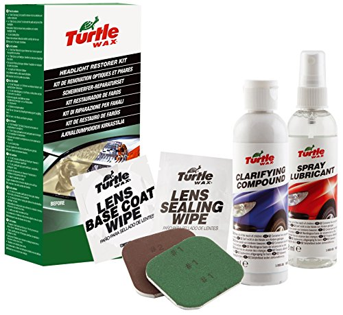 Turtle Wax FG7103 - Kit Restaurador De Faros