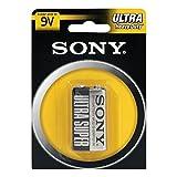 Sony S-006P-B1A Zinc-carbono 9V batería no-recargable - Pilas (Zinc-carbono, 9 V, 1 pieza(s), Hg (mercurio), Negro, Metálico, Ampolla)